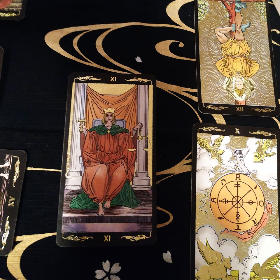 tarot rozkłady z  kart tarota kroniki akaszy irmina wrona
